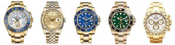 Rolex watch collections