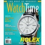 WatchTime Sept-Oct 2015 Cover - Rolex