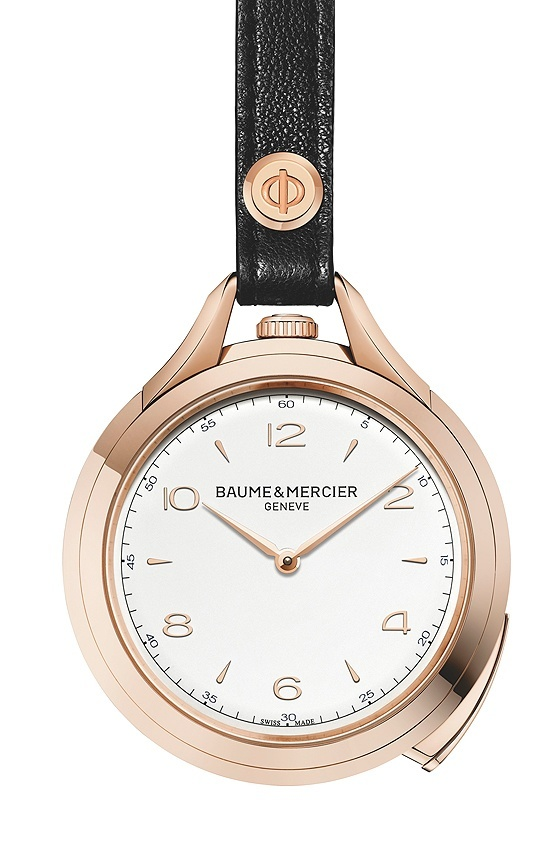 Baume & Mercier Clifton 1830 Pocket and Promesse Jade Baume_Clifton_1830_Pocketwatch_front_560