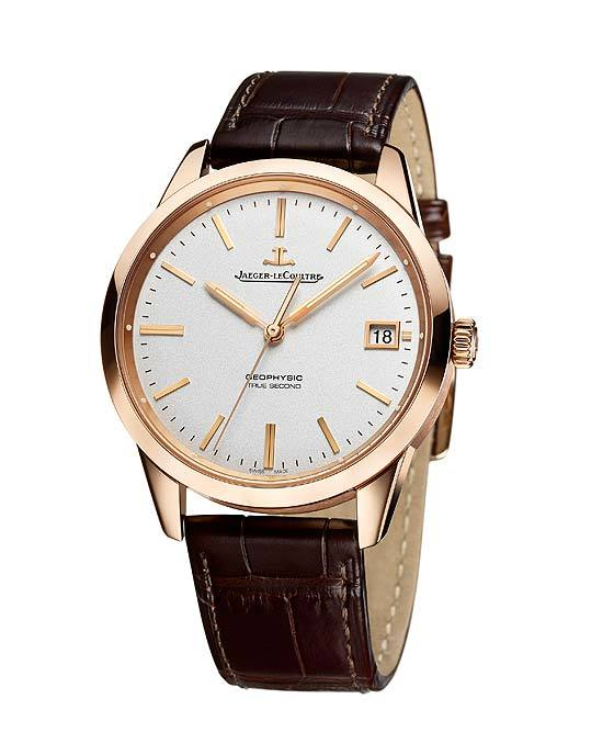 Replica-Jaeger-LeCoultre Geophysic True Second - gold - front