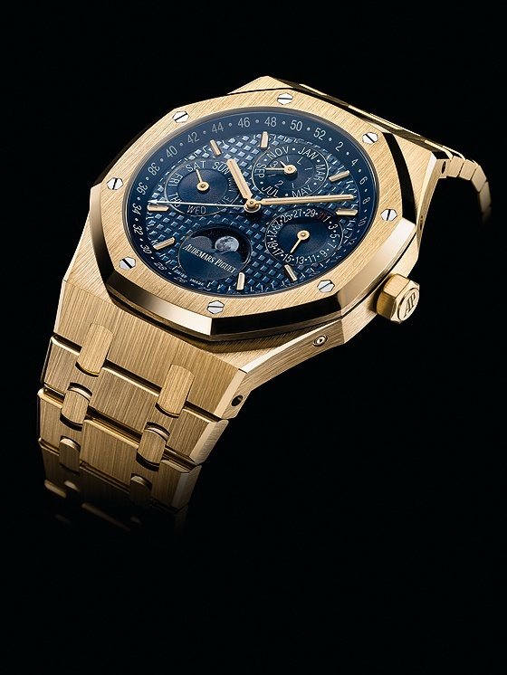 Audemars Piguet Royal Oak QP - yellow gold - angle