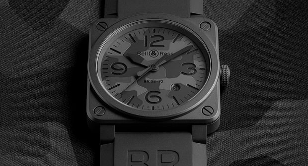 Stealth Style: Bell & Ross BR03 Black Camo