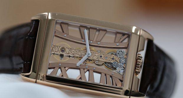 Borrowed Time: Corum Golden Bridge Rectangle