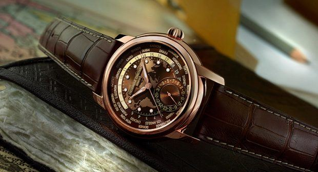 Baselworld Preview: Frédérique Constant Classic Worldtimer in Brown