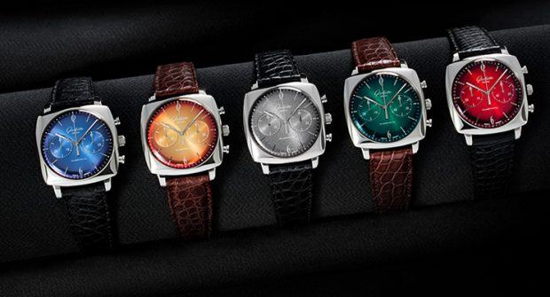 Glashütte Original Sixties Iconic Square: 5 Colorful New Models