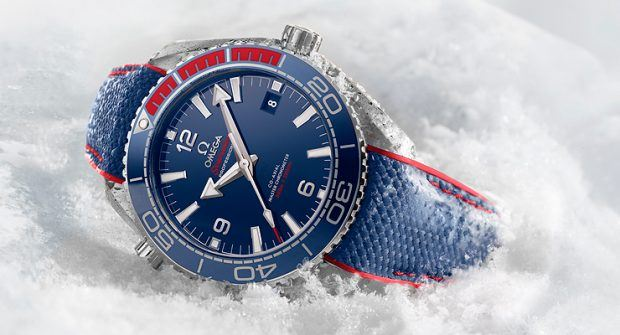 "Counting Down to the Olympics: Omega Planet Ocean ""PyeongChang 2018"""
