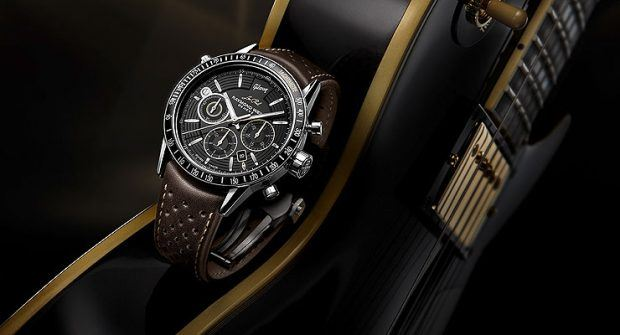 Raymond Weil's Tribute to the Les Paul Gibson Guitar