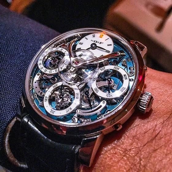 MB&F Legacy Machine Perpetual - wrist