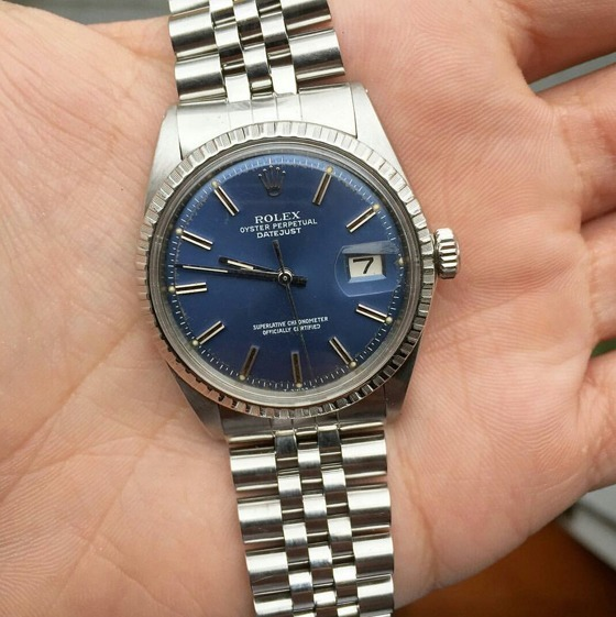 Rolex Datejust 36 - in hand