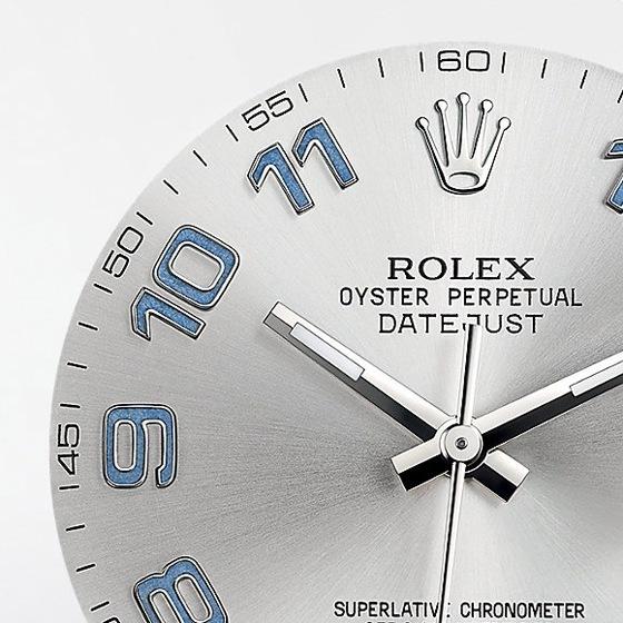 Rolex Datejust - dial CU