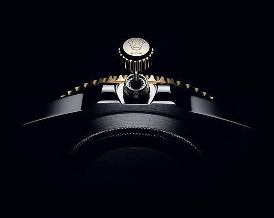 Rolex Triplock crown
