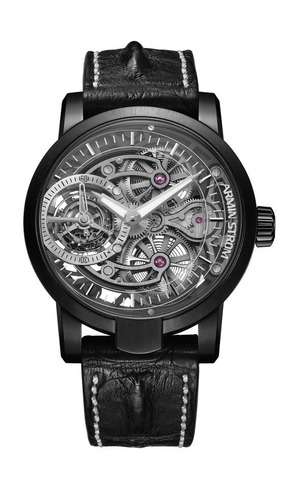 Armin Strom Tourbillon Skeleton Earth - front