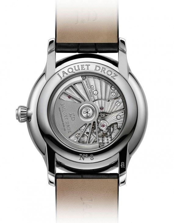 Jaquet Droz Grande Seconde Dual Time Silver - back