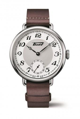 a vintage pocketwatch for the wrist tissot heritage 1936