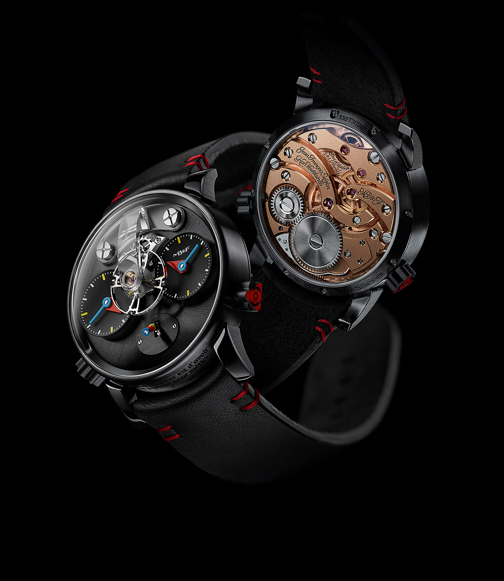 MB&F LM1 Silberstein - Black - front-back