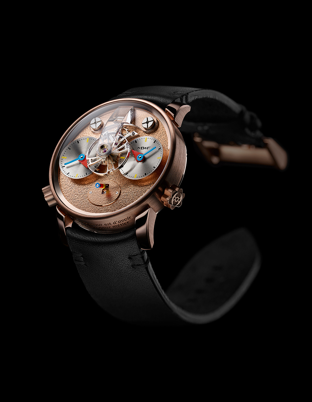 MB&F LM1 Silberstein - RG - Front