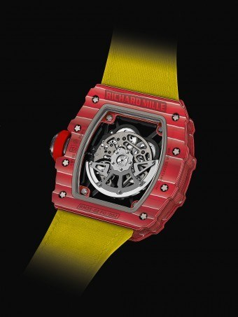 Richard Mille Rm 35 02 The First Rafael Nadal Watch With Automatic Winding Watchtime Usa S No 1 Watch Magazine