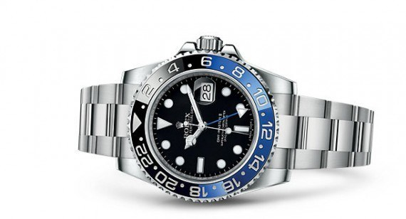 Rolex GMT-Master II - blue-black - reclining