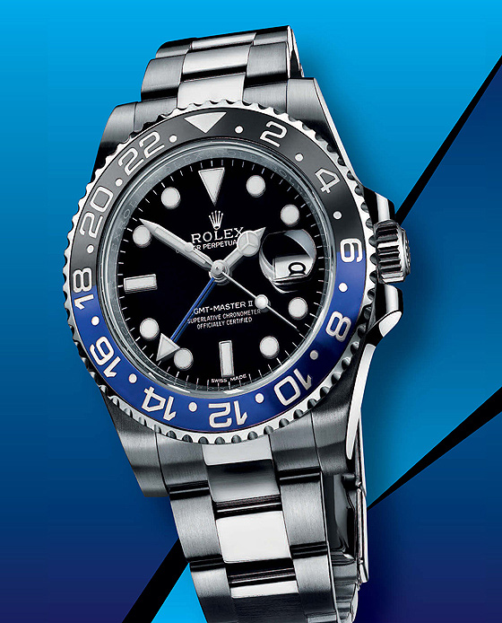 Rolex GMT-Master II - blue-black - soldier
