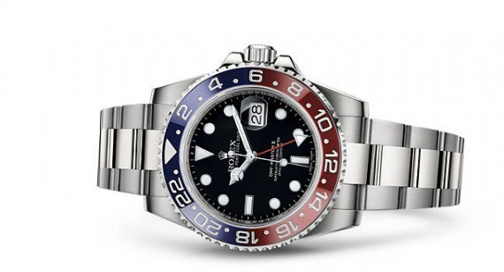 Rolex GMT-Master II - red-blue - reclining