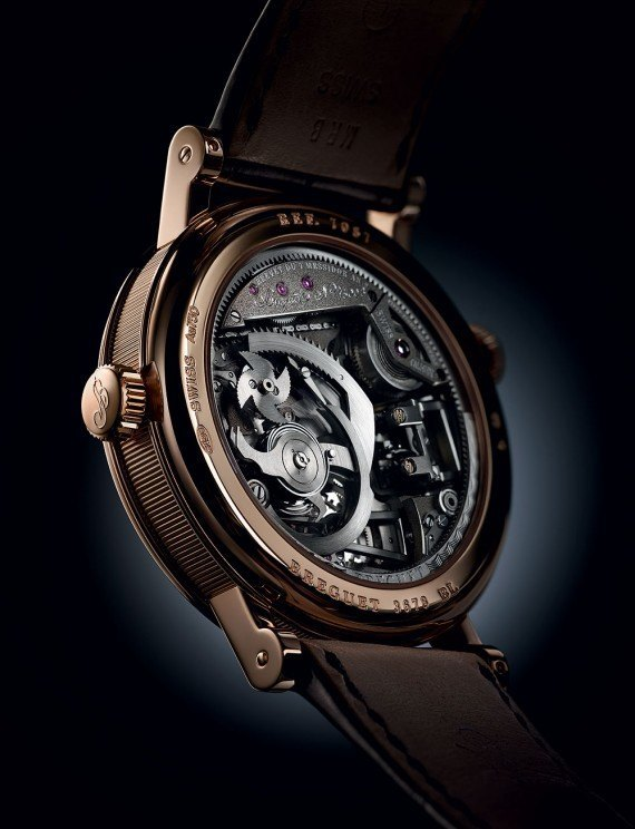 Breguet Tradition Minute Repeater Tourbillon - back