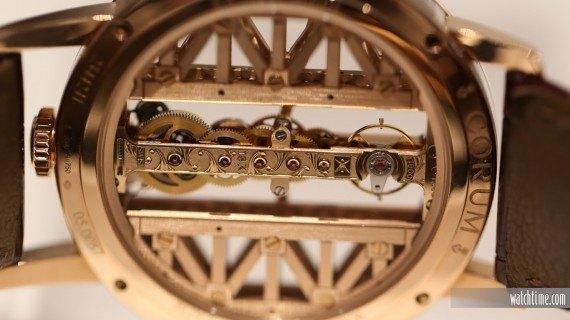 Corum Golden Bridge Round - Caseback