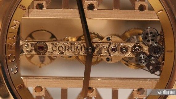 Corum Golden Bridge Round - Closeup