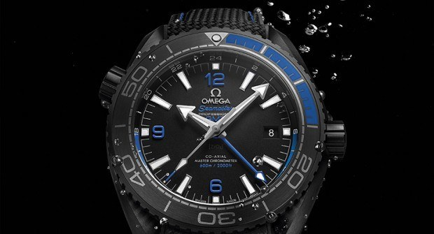 "Omega Launches ""Deep Black"" Planet Oceans"