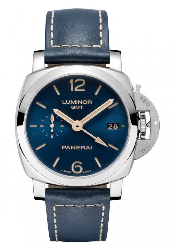 Panerai Luminor 1950 3 Days GMT Automatic Acciaio - blue dial