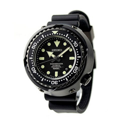 Seiko Marinemaster - black