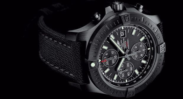 Breitling's New Blacksteel Models