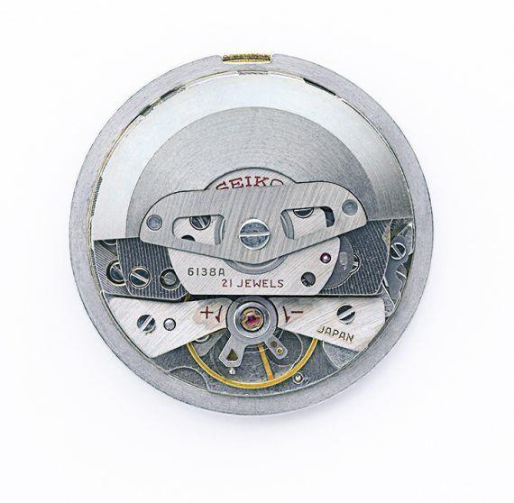 Seiko 6138 Chronograph Caliber