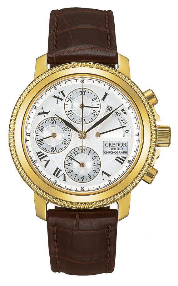 Seiko 6S74 Credor Chronograph