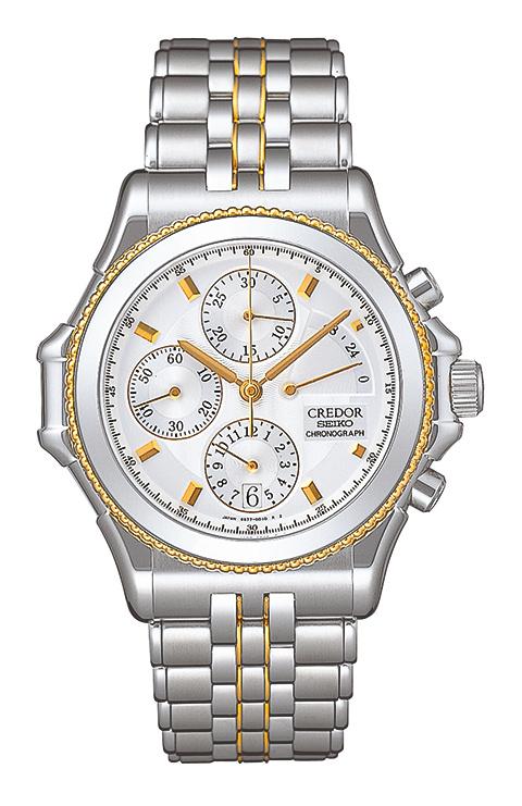 Seiko 6S77 Credor Chronograph