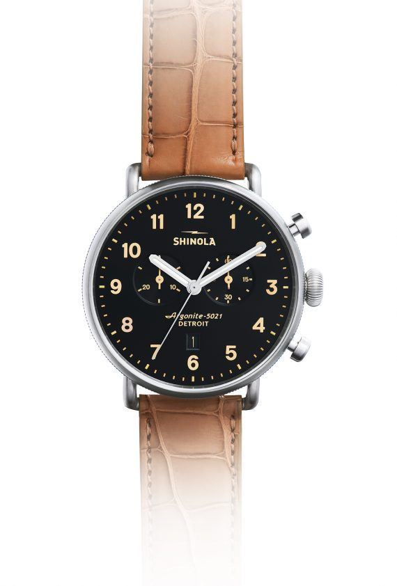 Shinola Canfield Watch