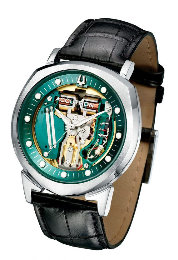 History of Bulova Through Ten Milestone Watches article Bulova_Accutron_Spaceview_1000-570x832