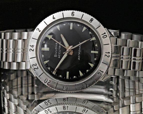 History of Bulova Through Ten Milestone Watches article Bulova_Astronaut_watch_500-570x456