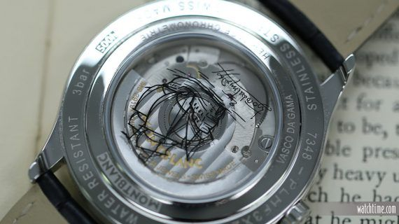 Montblanc Heritage Chronometrie Dual Time Vasco De Gama - Back