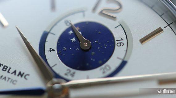 Montblanc Heritage Chronometrie Dual Time Vasco De Gama - Dial - Stars