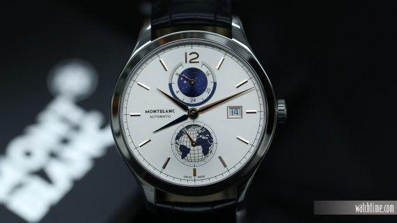 Montblanc Heritage Chronometrie Dual Time - Front