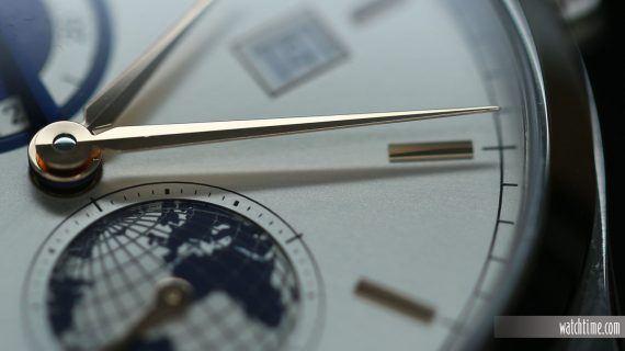 Montblanc Heritage Chronometrie Dual Time Vasco De Gama - Dial - Gold Minute Hand