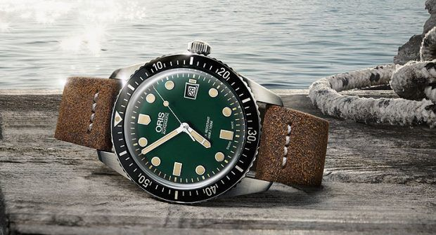 Oris Goes Green: New Divers Sixty-Five Models