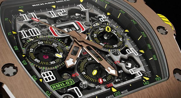 The Next Generation: Richard Mille RM11-03 Flyback Chrono