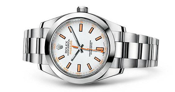 Milgauss Rolex White