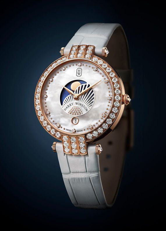 Harry Winston Premier Moon Phase 36mm - soldier