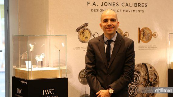 IWC Boutique NYC - Edouard Maulbon D'Arbaumont