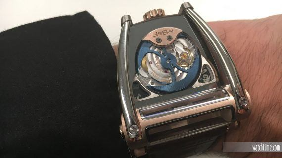 MB&F HM8 Can-Am Rose Gold - Wrist