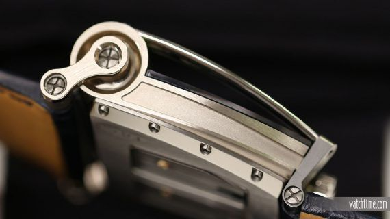 MB&F Hm8 Can-Am - White Gold - Profile