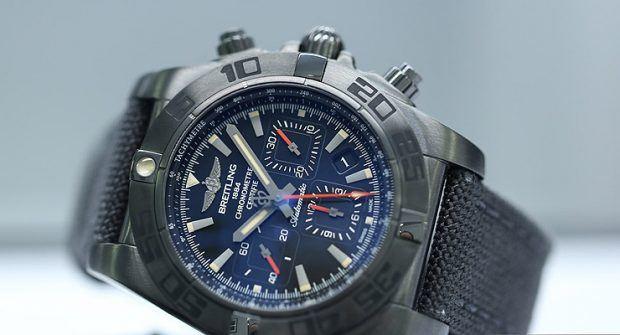 Borrowed Time: Breitling Chronomat 44 Blacksteel