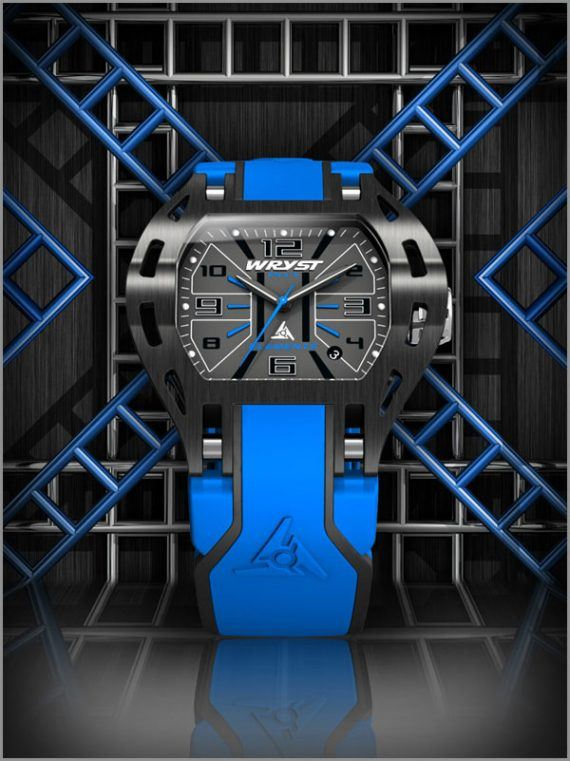Wryst Elements watch - blue
